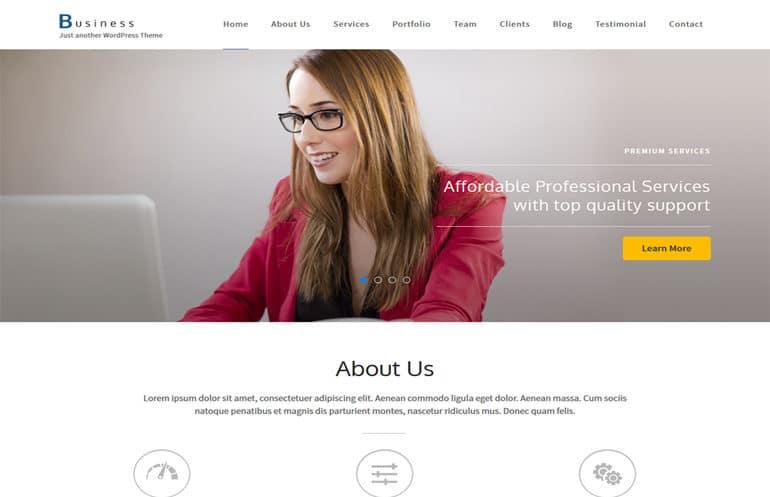 تصميم موقع تعريفي للشركات