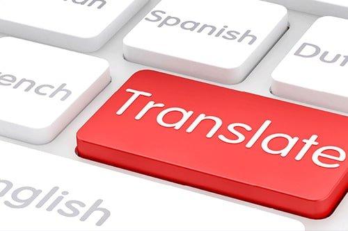 ترجمة محتوى المواقع