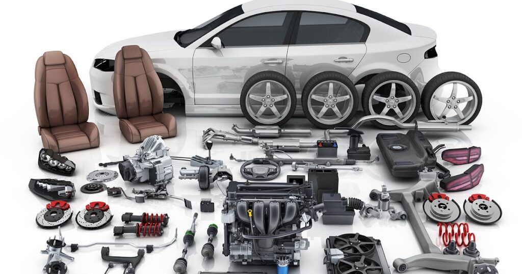 تصميم موقع شركة لقطع غيار السيارات
